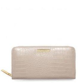 Katie Loxton Celine Croc Wallet - Oyster