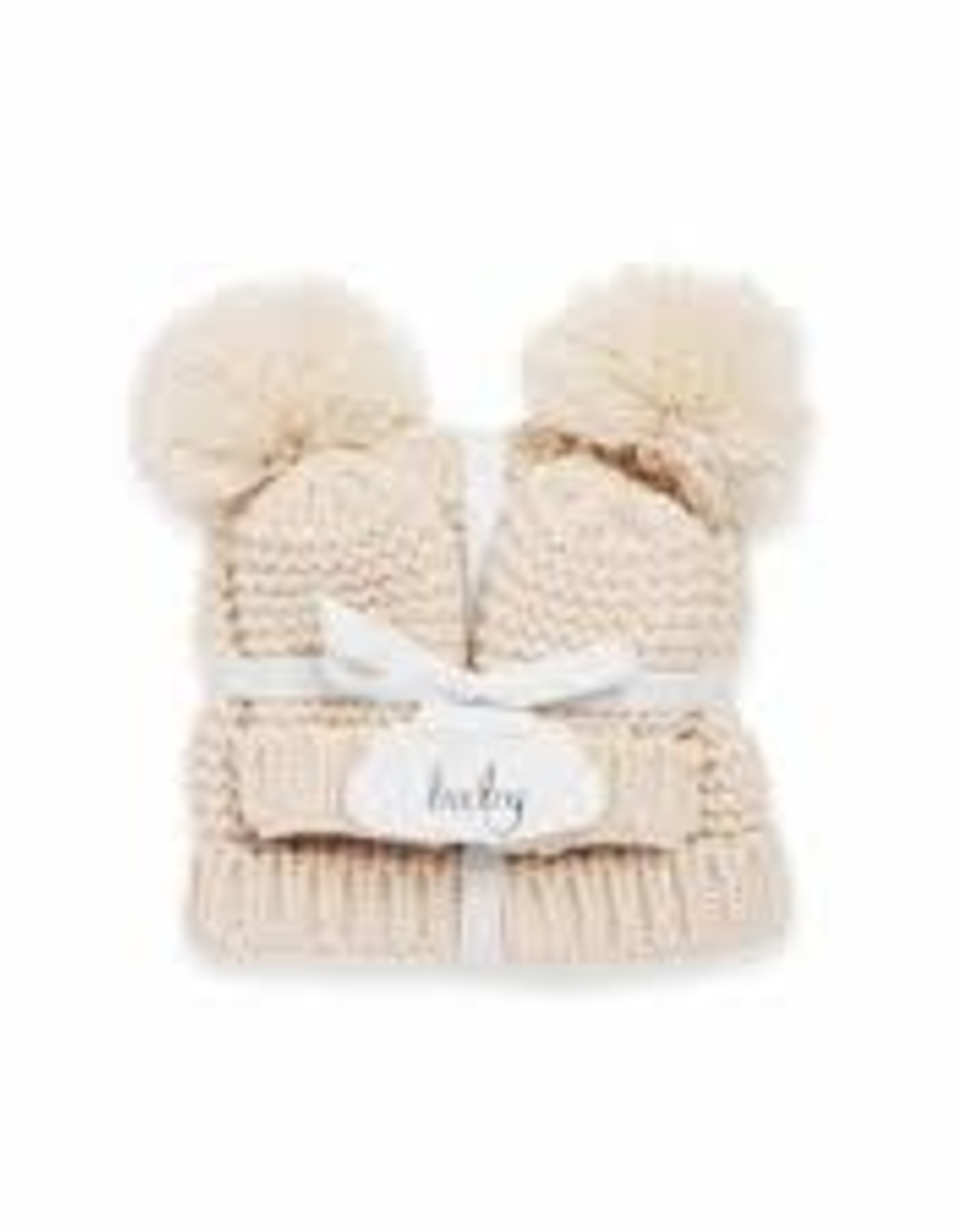 Katie Loxton Baby Hat and Mittens Set - 0-6 months