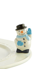 Nora Fleming frosty pal (snowman)