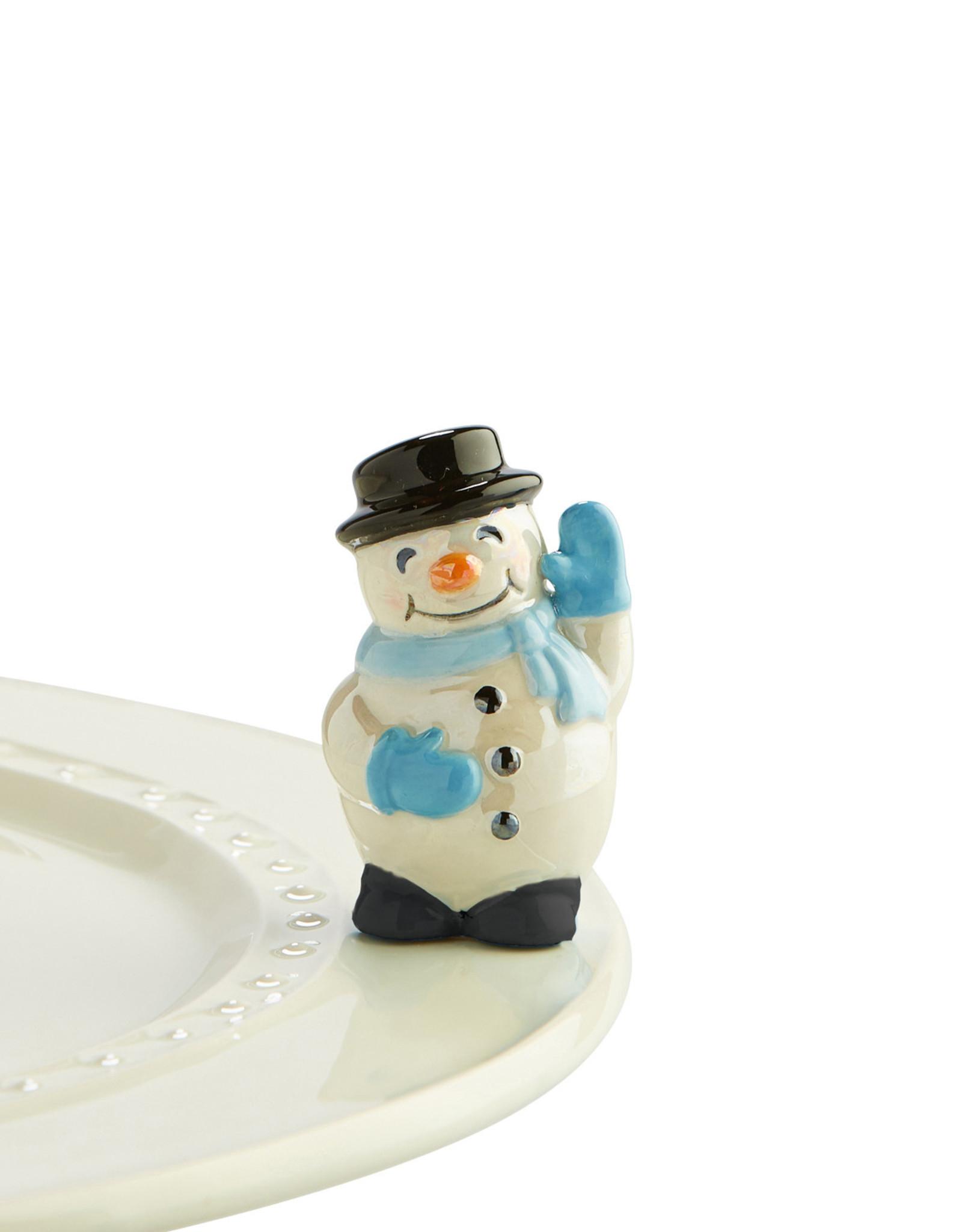 Nora Fleming frosty pal (snowman)