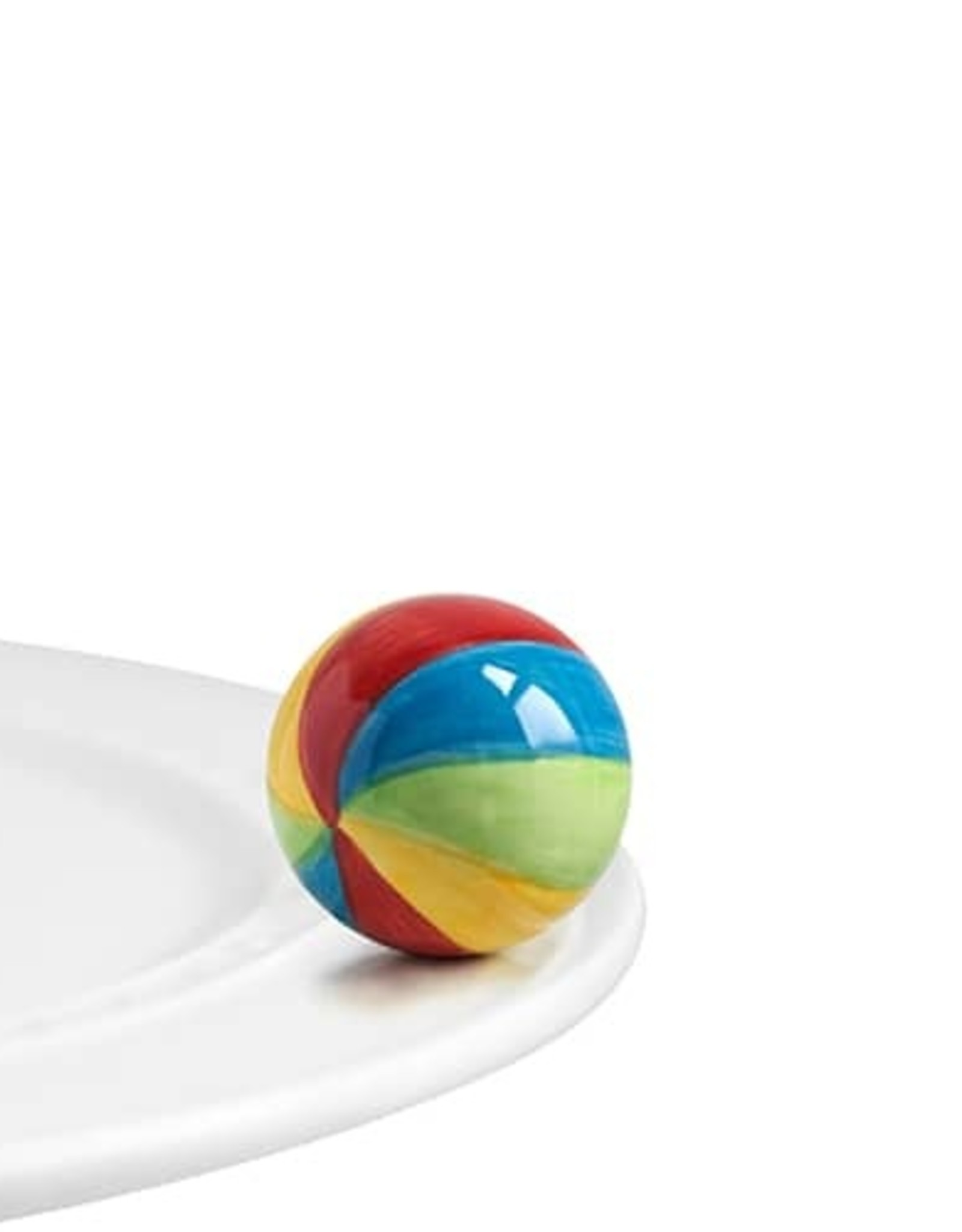 Nora Fleming have a ball (beach ball)