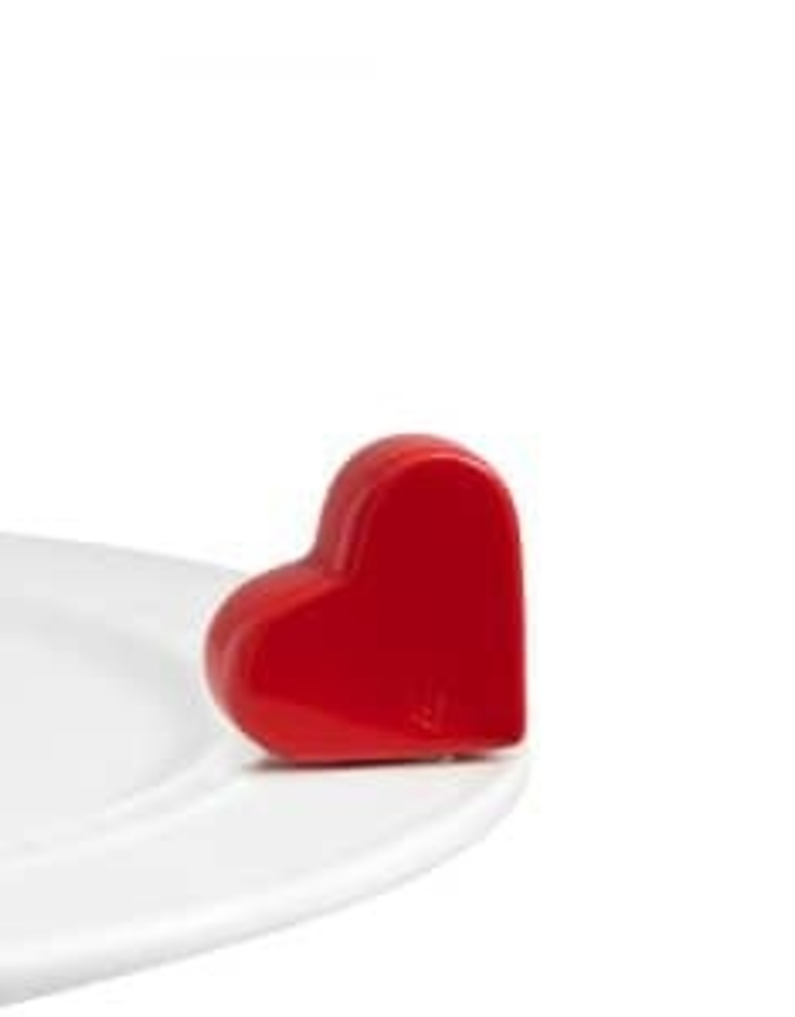 Nora Fleming be mine (red heart)