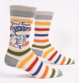 Blue Q Socks, Your Team Sucks