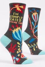 Blue Q I'm Complicated Socks