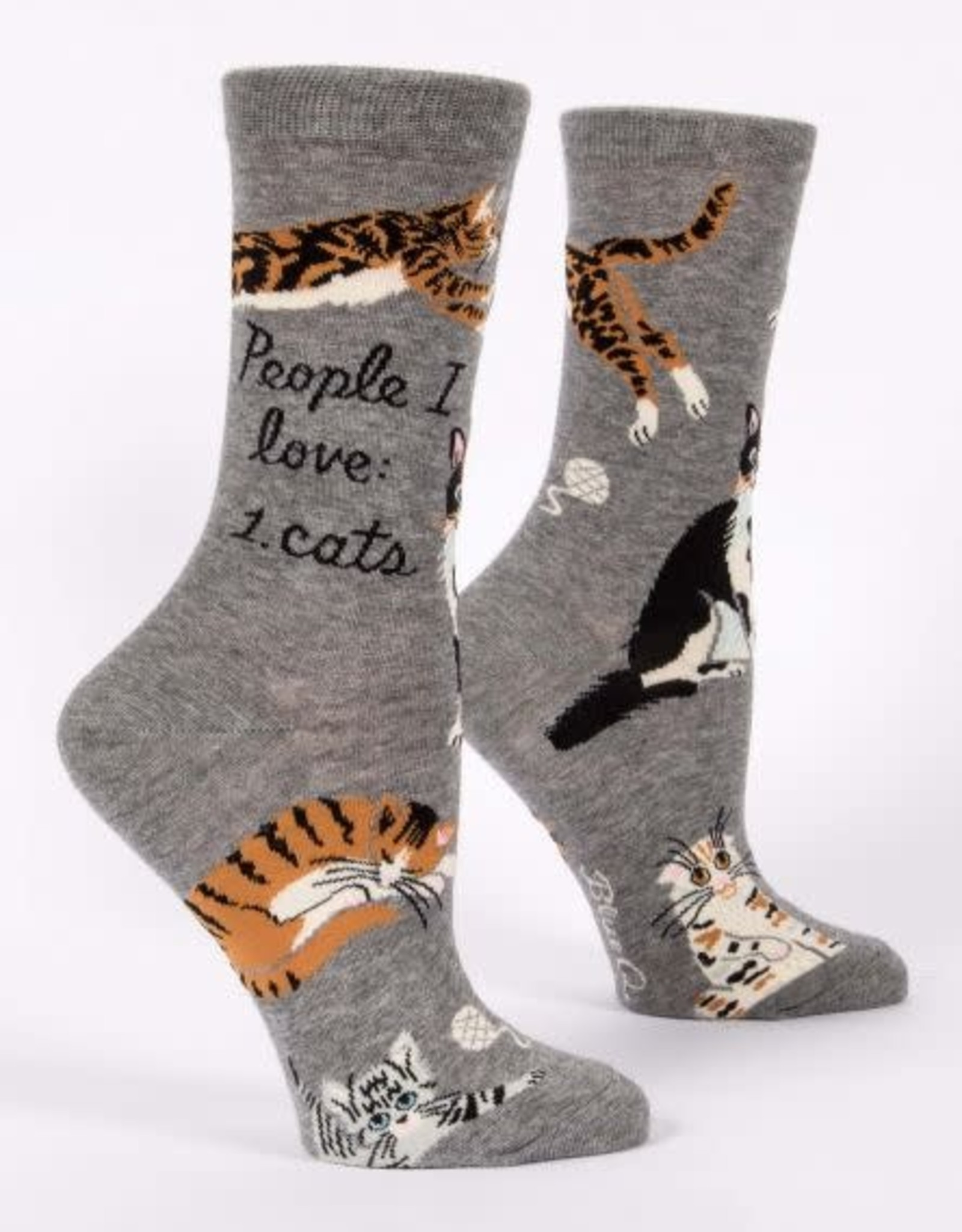 Blue Q People I Love Socks