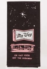Blue Q My Way or Fast Food