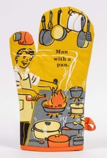 Blue Q Man with a Pan