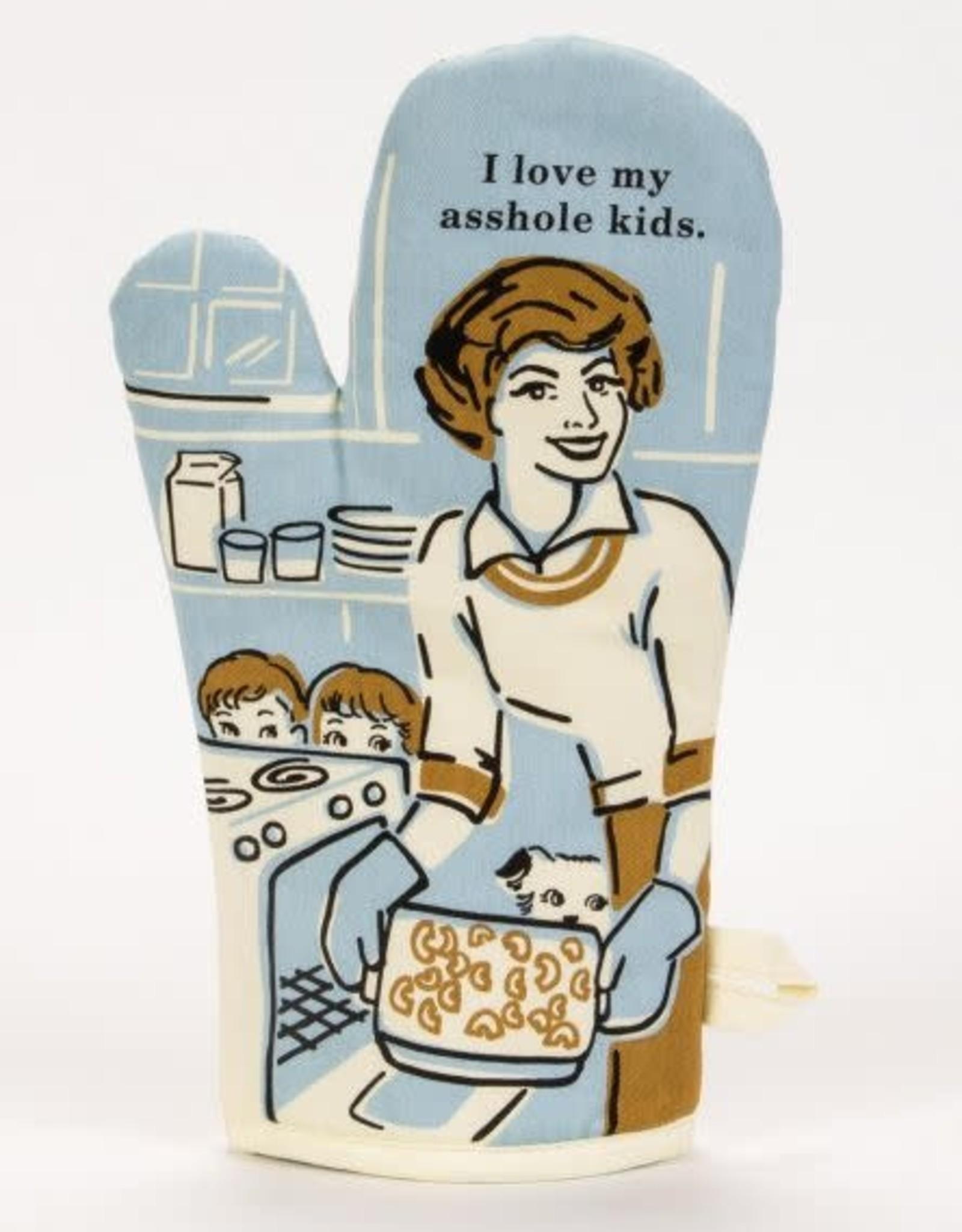 Blue Q I Love My Kids Oven Mitt