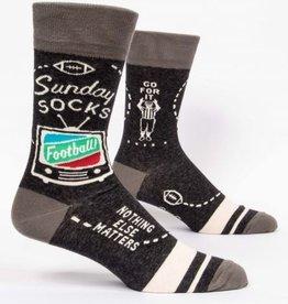 Blue Q Sunday Socks