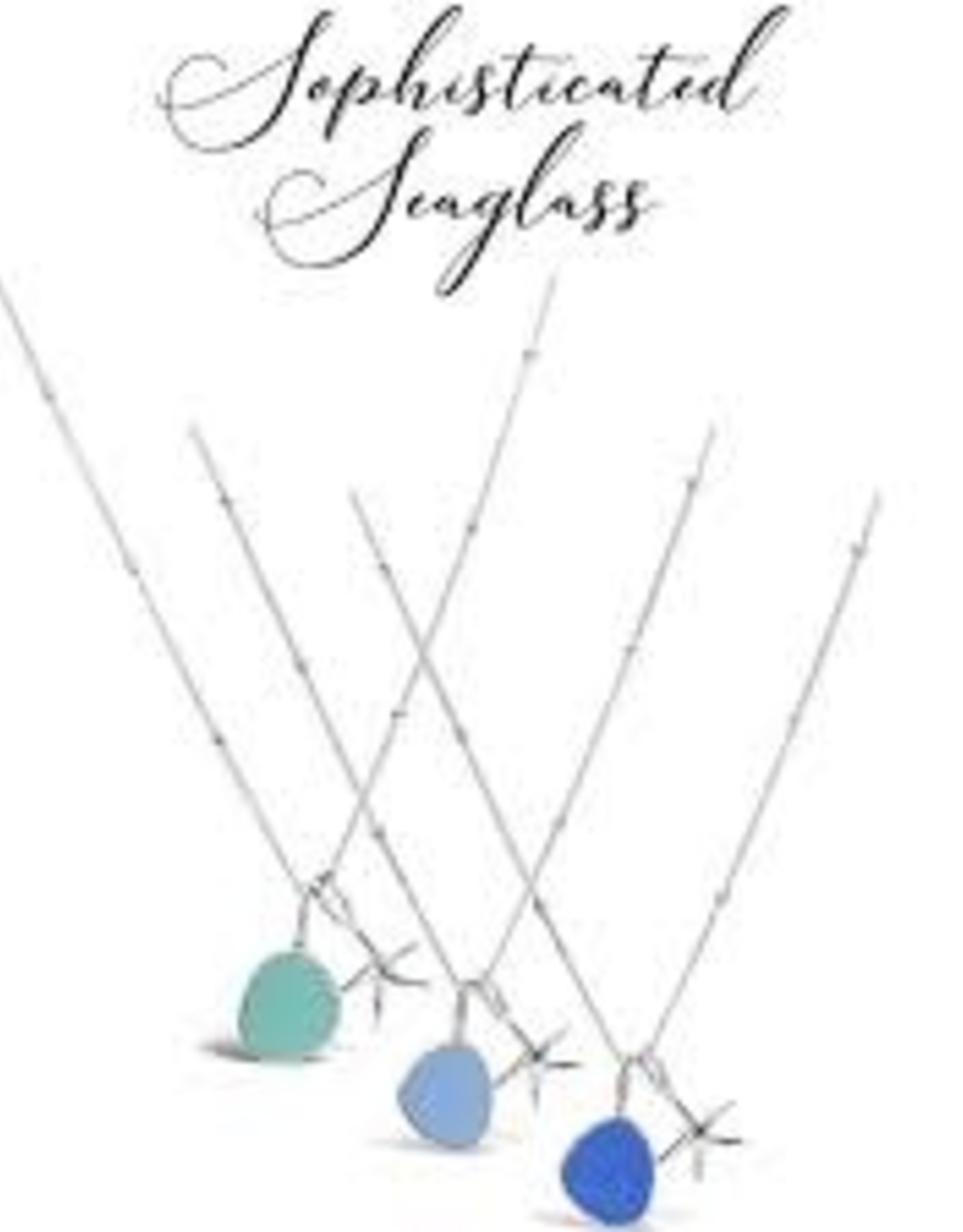 Stia Jewelry Necklace - Seaglass Sentiments