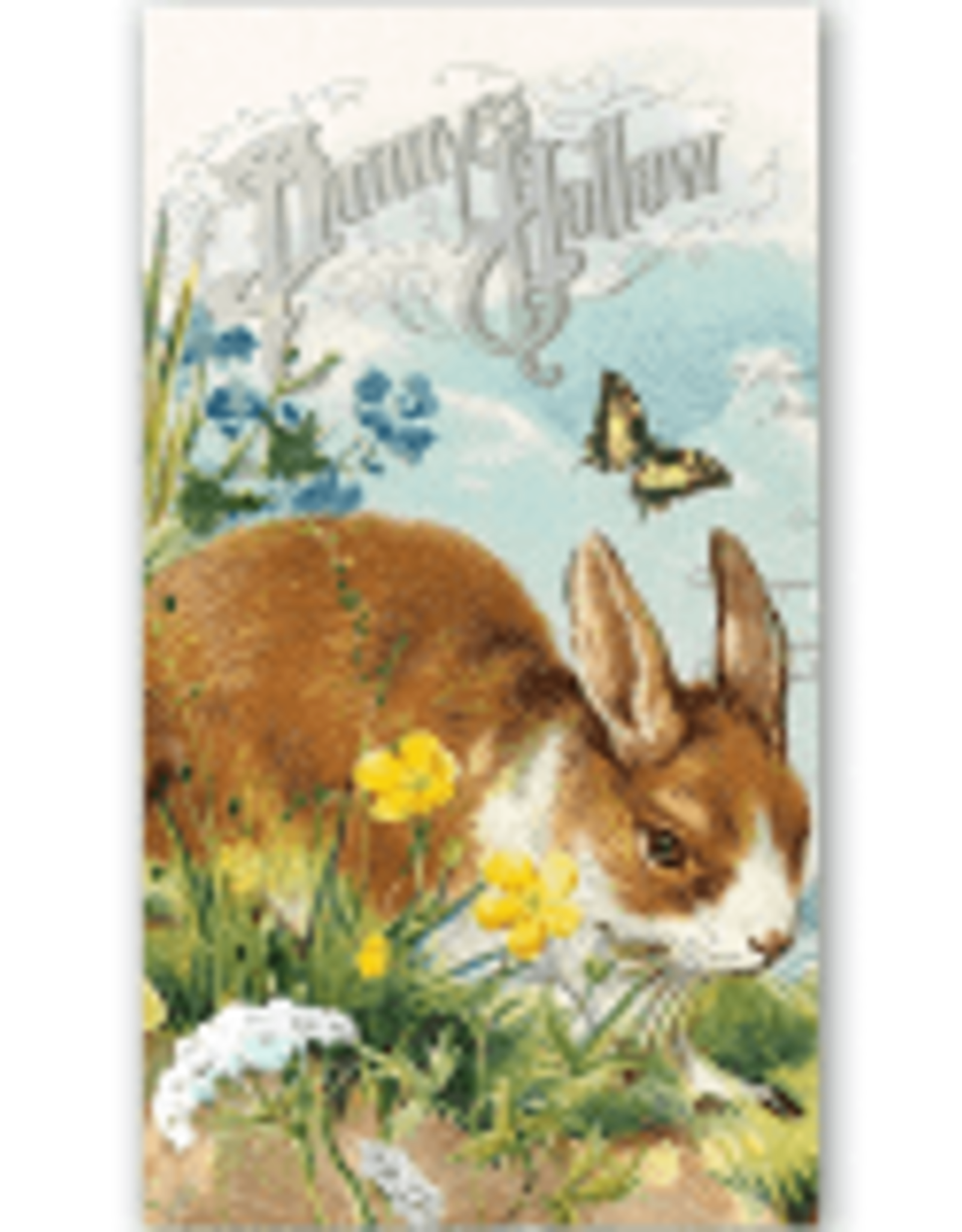 MichelDesign Works Bunny Hollow Hostess Napkin