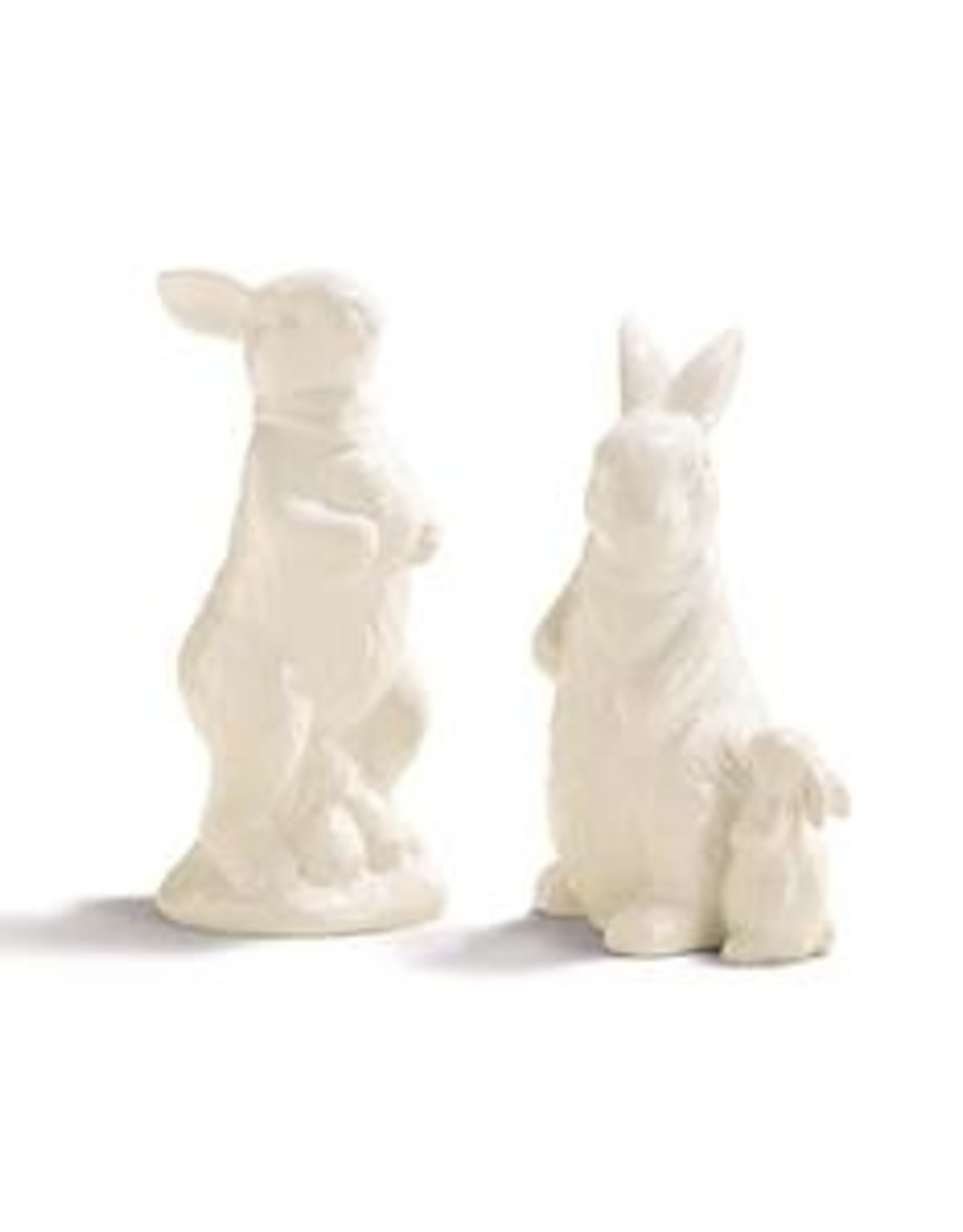 Bunny Statue - White Ceramic