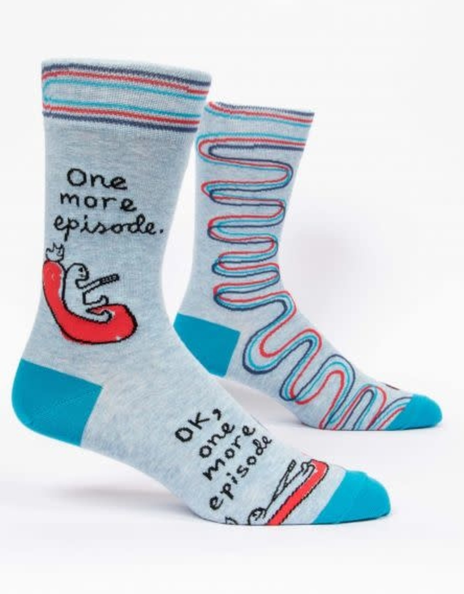 Blue Q One More Episode Socks
