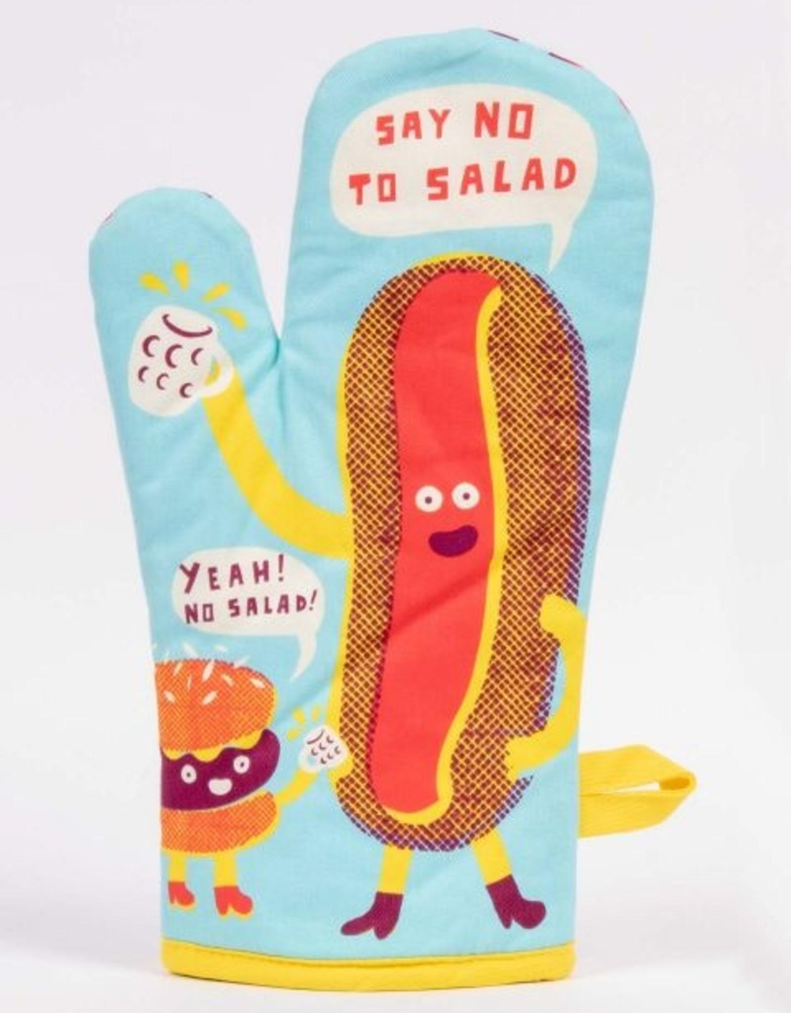 Blue Q Say No to Salad Oven Mitt