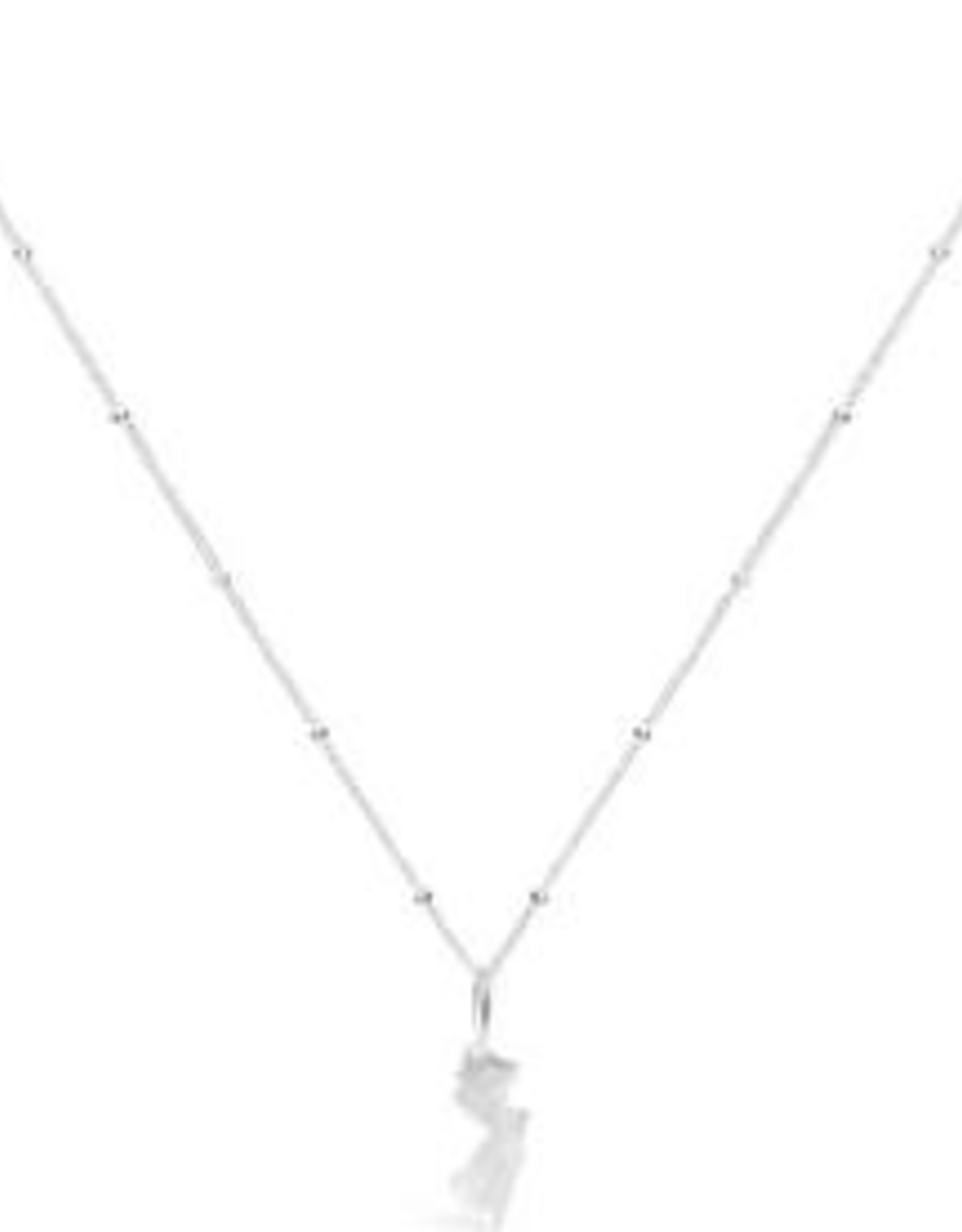 Stia Jewelry Necklace Sterling Silver - New Jersey