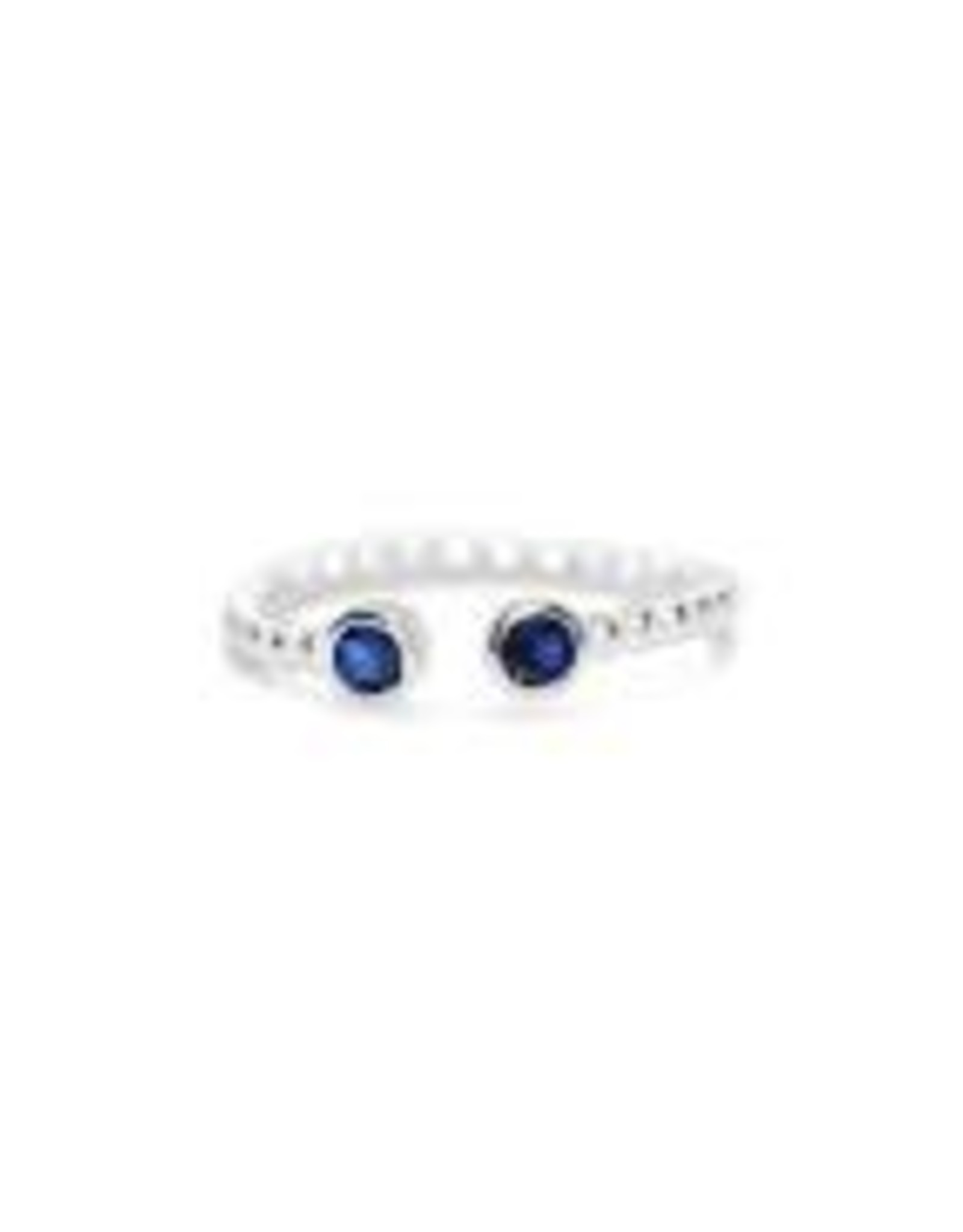 Stia Jewelry Droplet Wire Ring - Sapphire