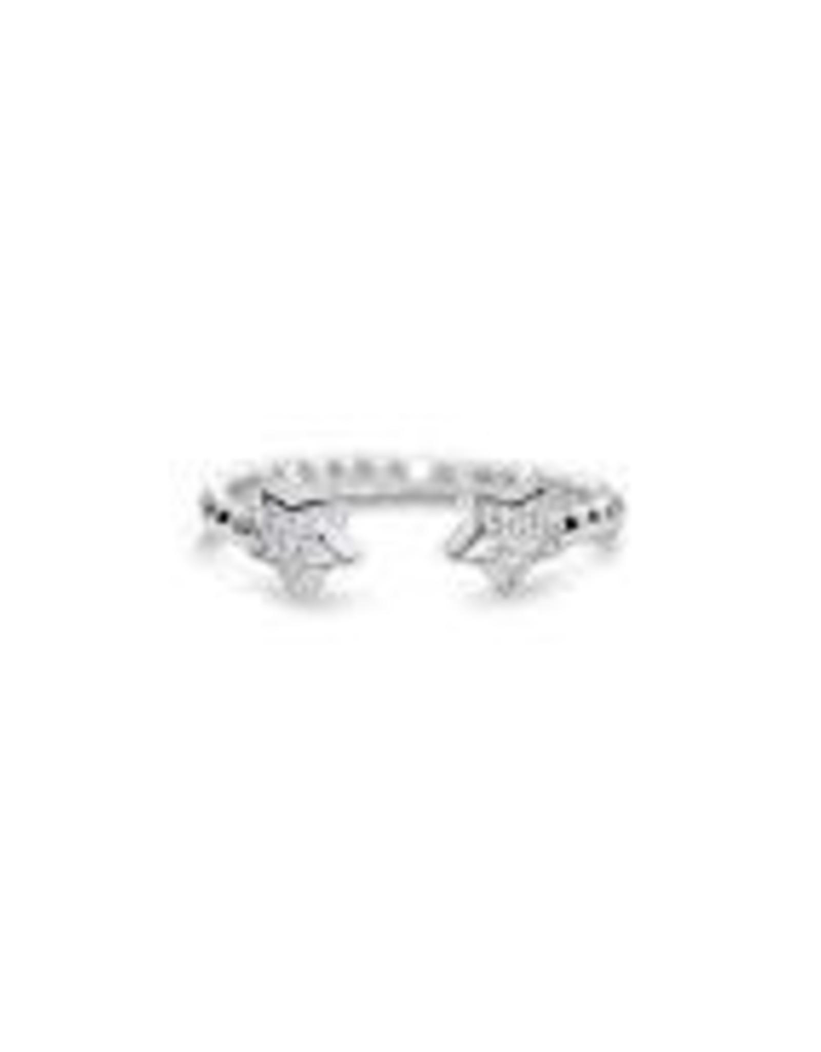 Stia Jewelry Droplet Wire Ring - Star