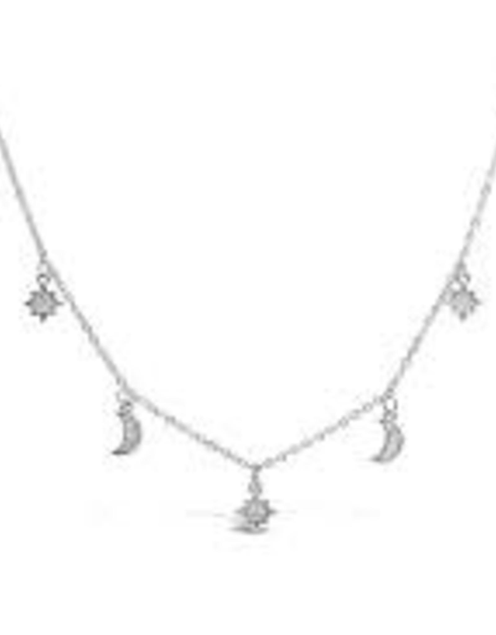 Stia Jewelry Necklace - Moon Starburst