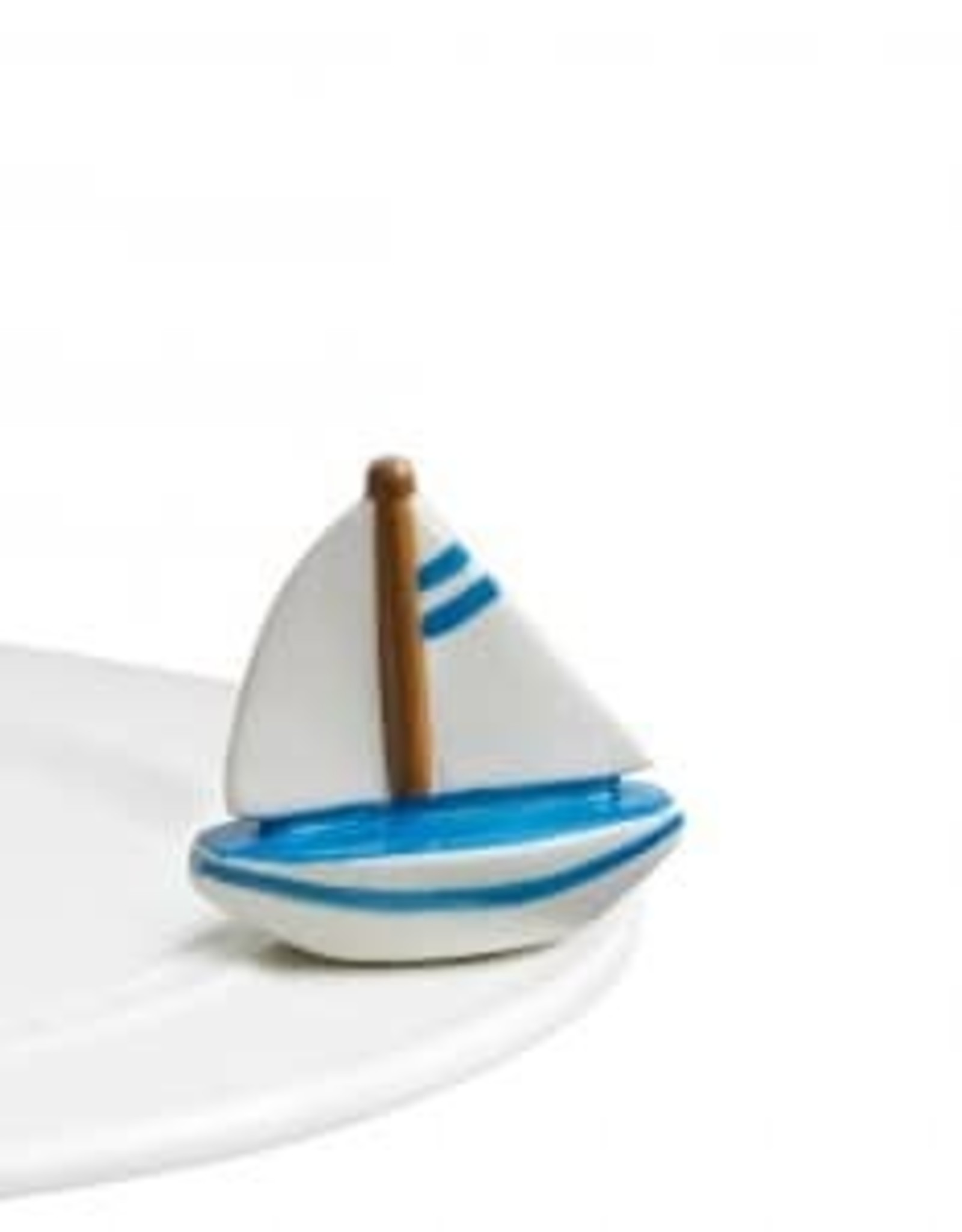 Nora Fleming Sail me away (boat mini)