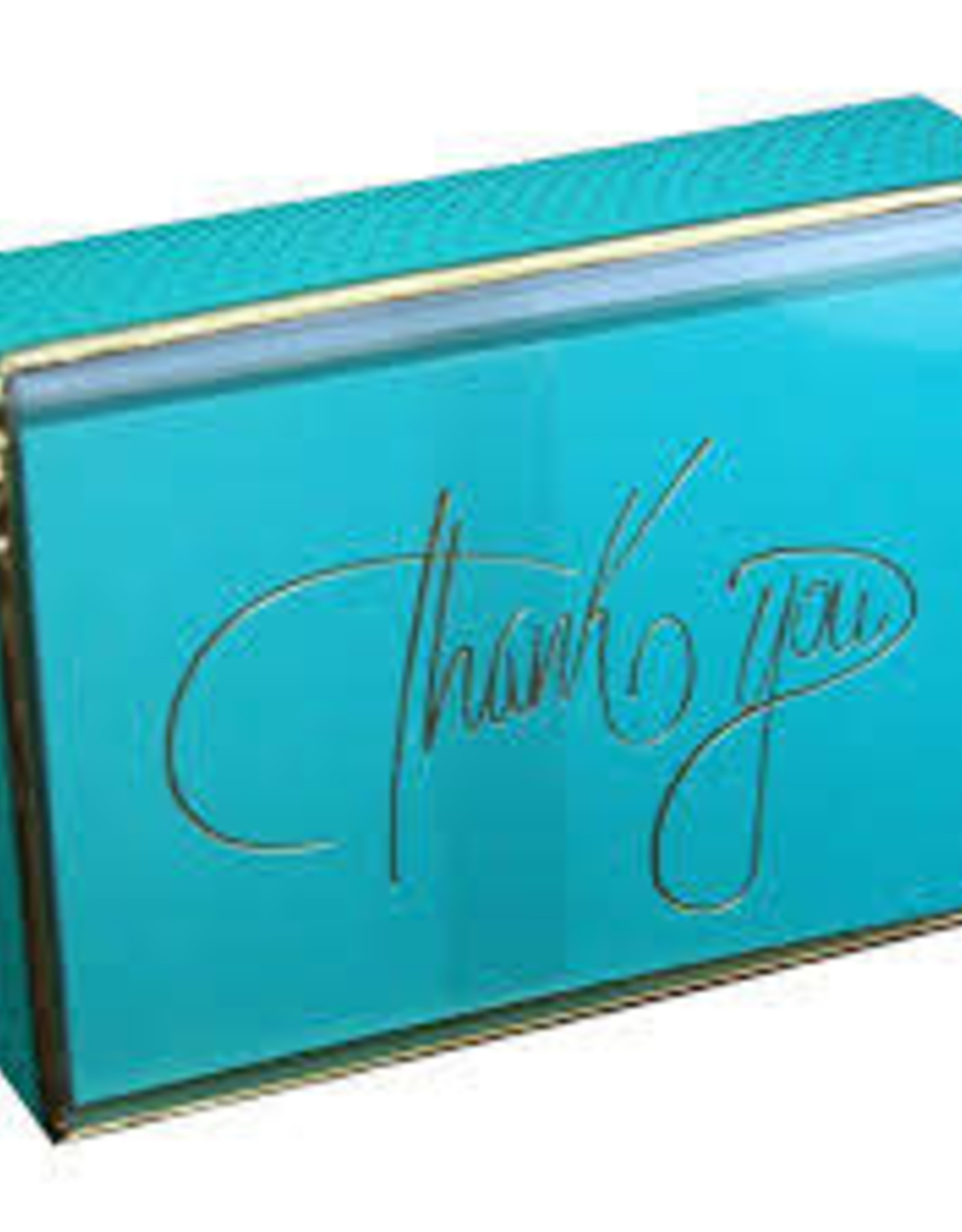 Pictura Thank you Note Cards Teal