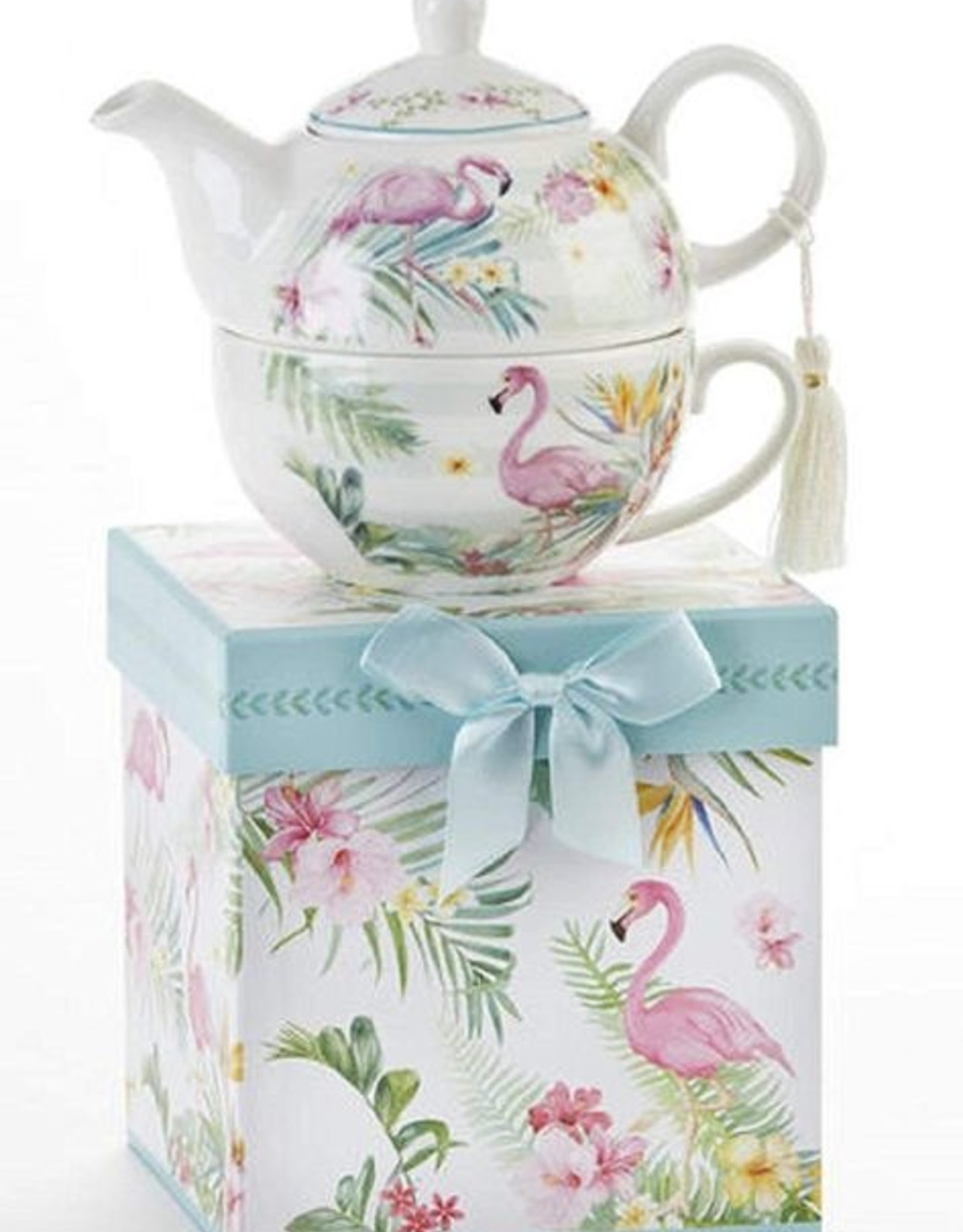 Tea for One - Pink Flamingo