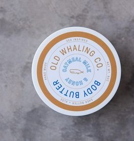 Old Whaling Co. Oatmeal Milk & Honey Body Butter