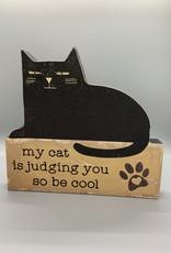 Judging You Shelf Sitter