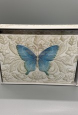 Pictura Note Cards - Blue Butterfly