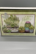 Pictura Note Cards - Succulents