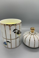 Gilded Cage Lidded Candle