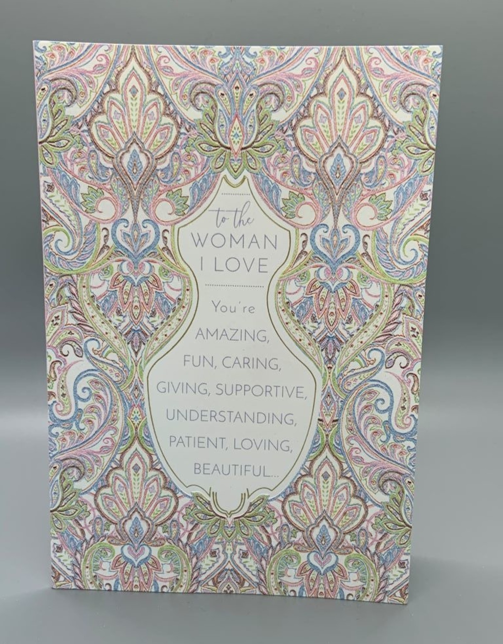 Pictura Mother's Day Card - To The Woman I Love