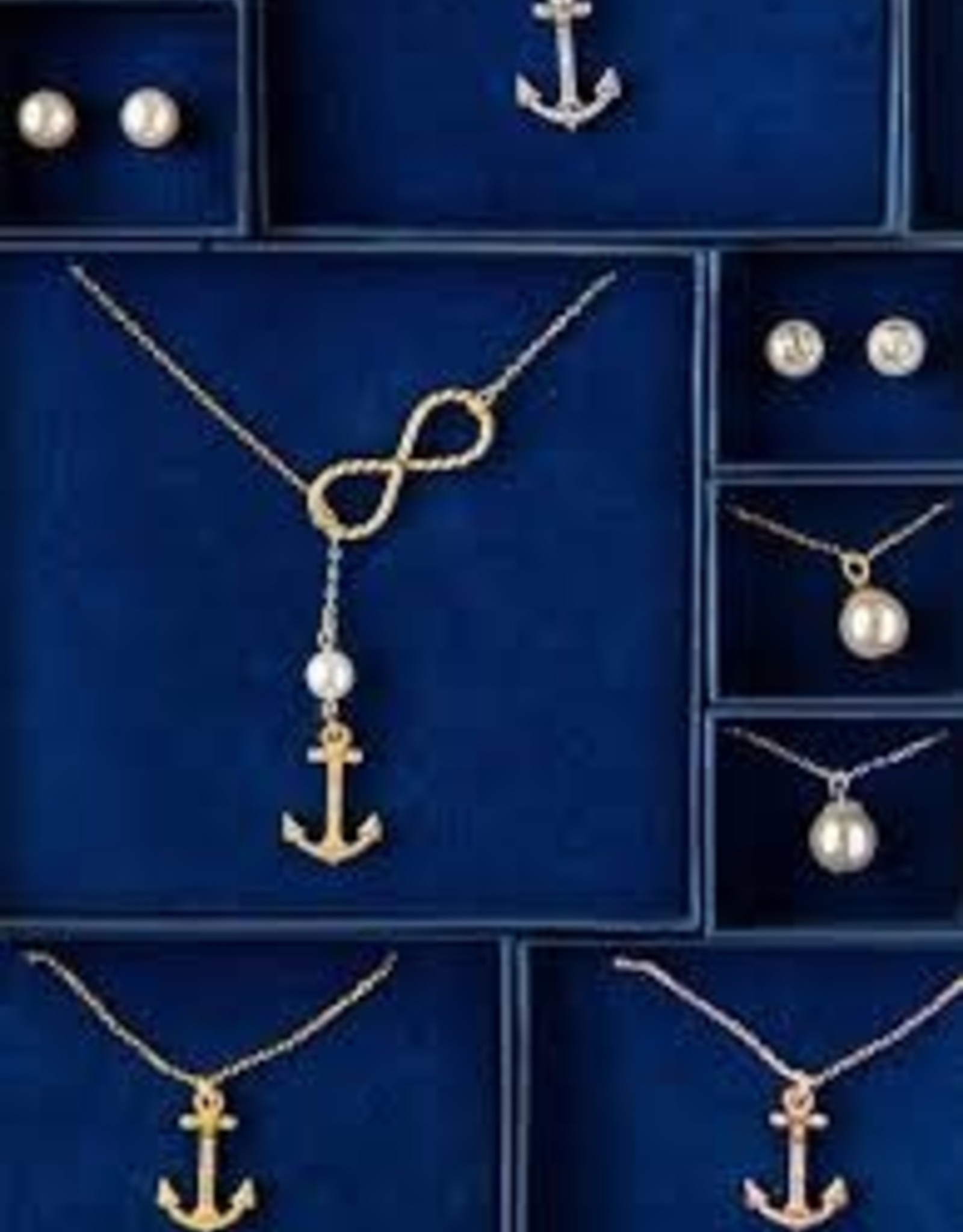 Kiel James Patrick Infinity Anchor Necklace