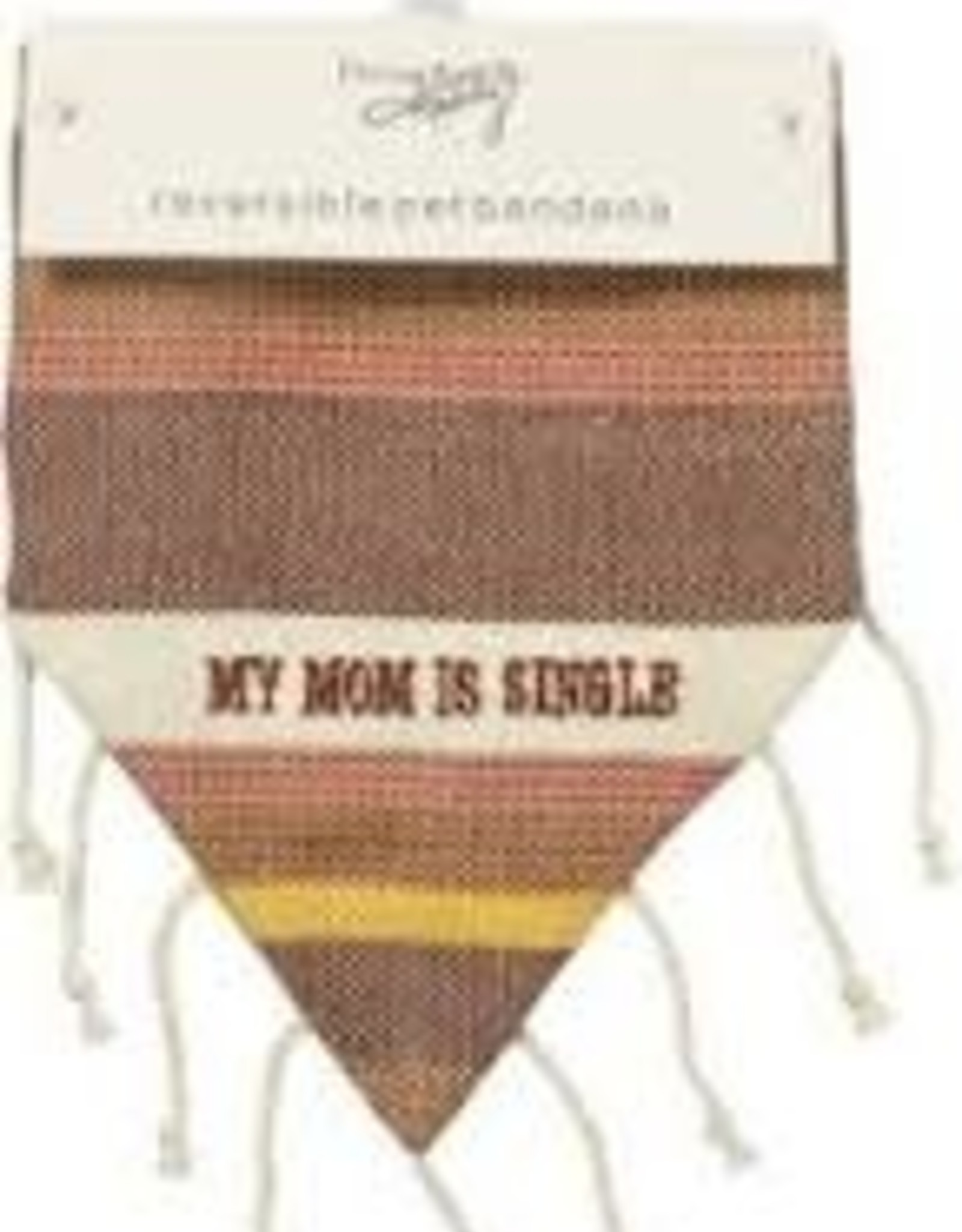 Pet Bandana - Mom is Single