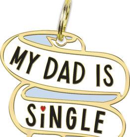 Collar Charm - Dad is Single