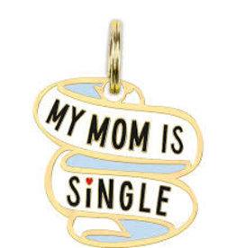 Collar Charm - Mom is Single