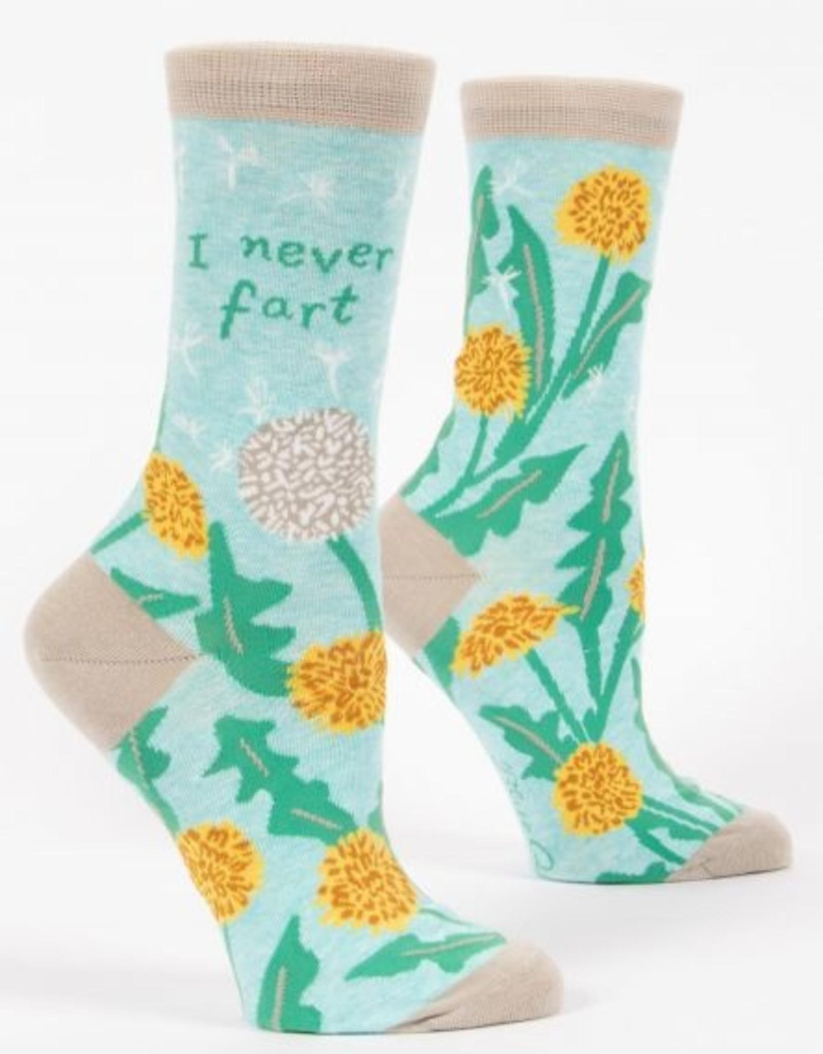 Blue Q Socks, I Never Fart