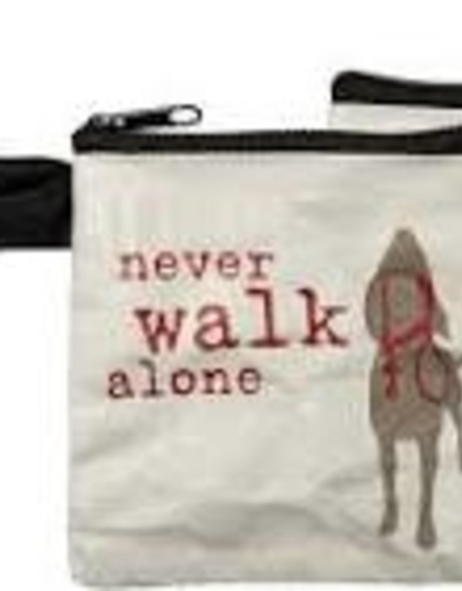 Pet Bag Pouch, Never Walk Alone