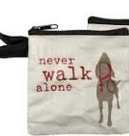 Pet Bag Pouch, Never Walk Alone