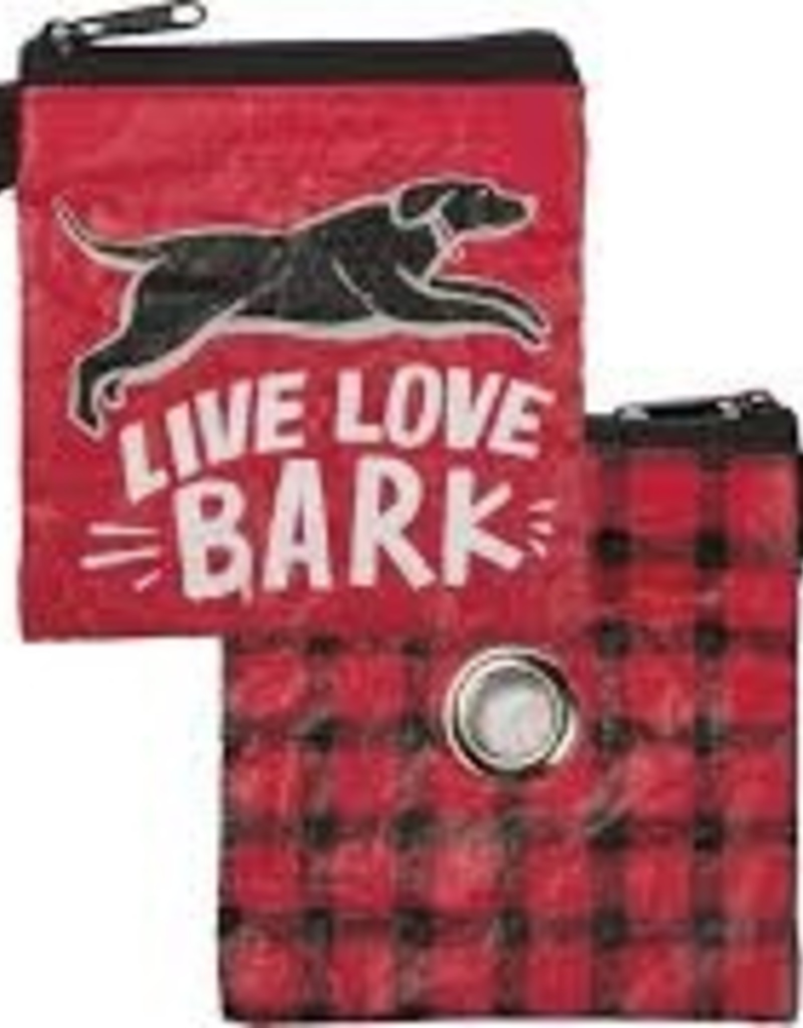 Pet Bag Pouch, Live Love Bark