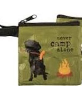 Pet Bag Pouch, Never Camp Alone