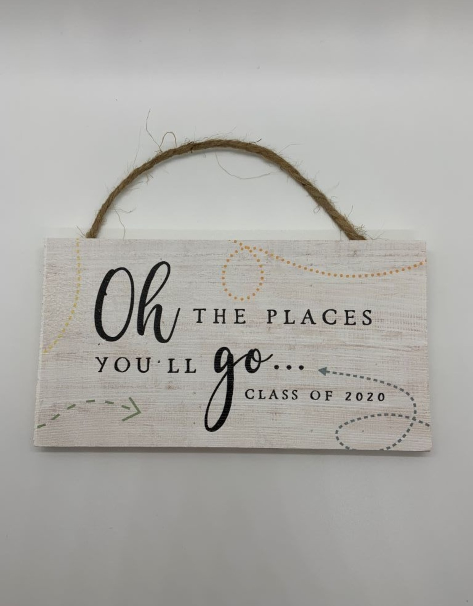 Sincere Surroundings Hanging Sign