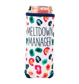 Mary Square Skinny Can, Meltdown Manager