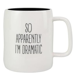 Mary Square Ceramic Mug, I'm Dramatic
