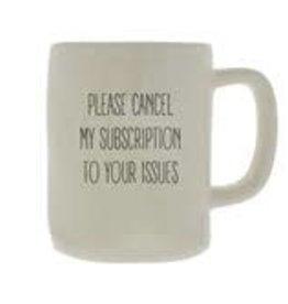 Mary Square Ceramic Mug, Cancel Subscription