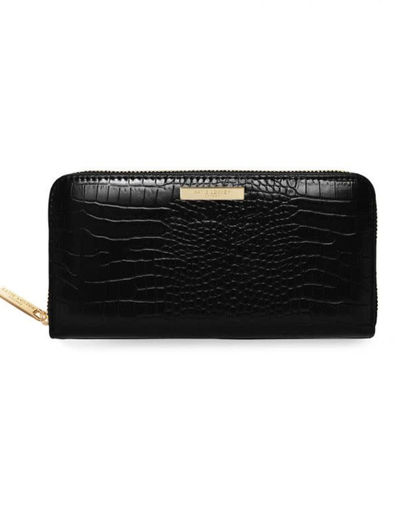 Katie Loxton Celine Croc Wallet - Black