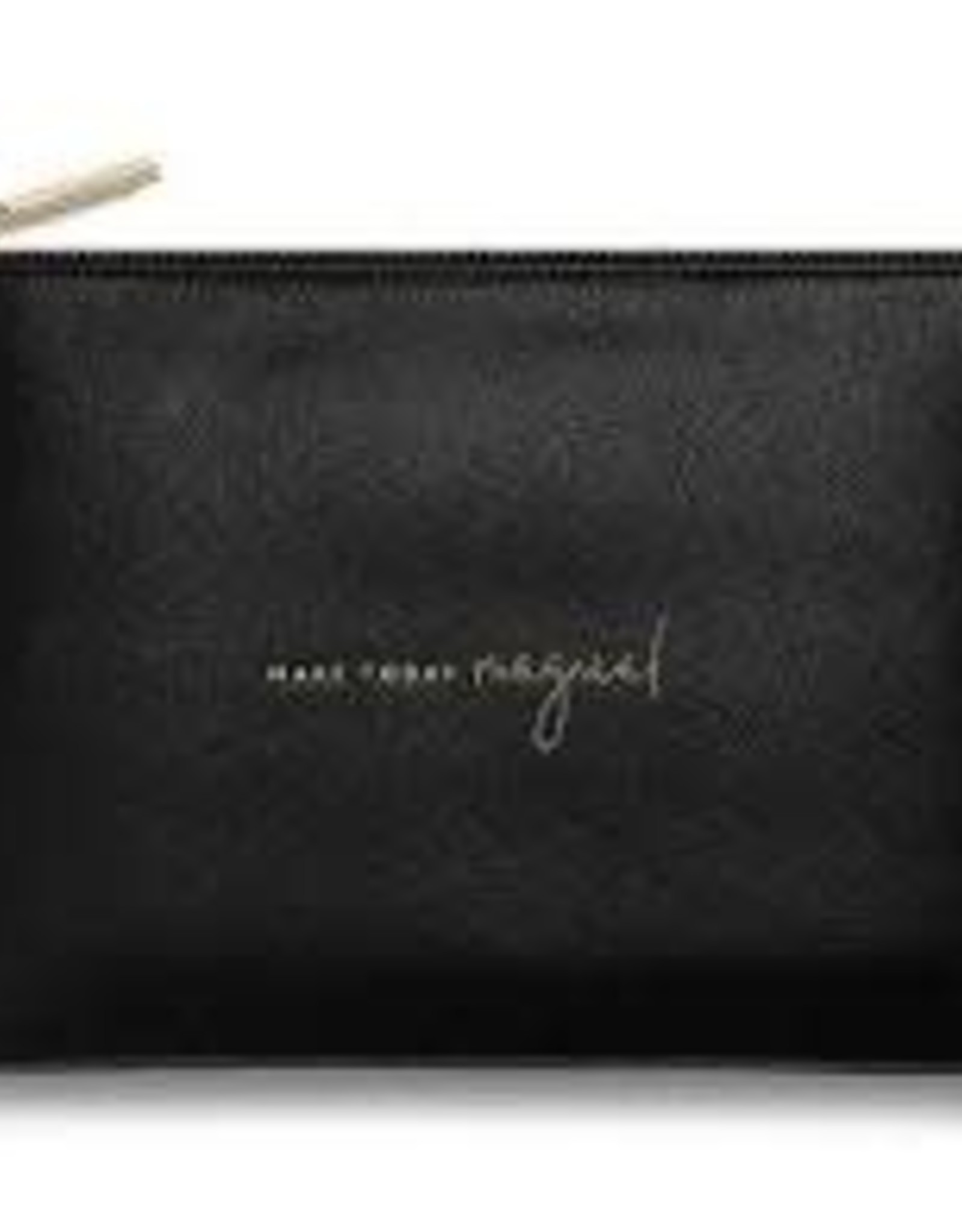 Katie Loxton Perfect Pouch - Make Today Magical - Black