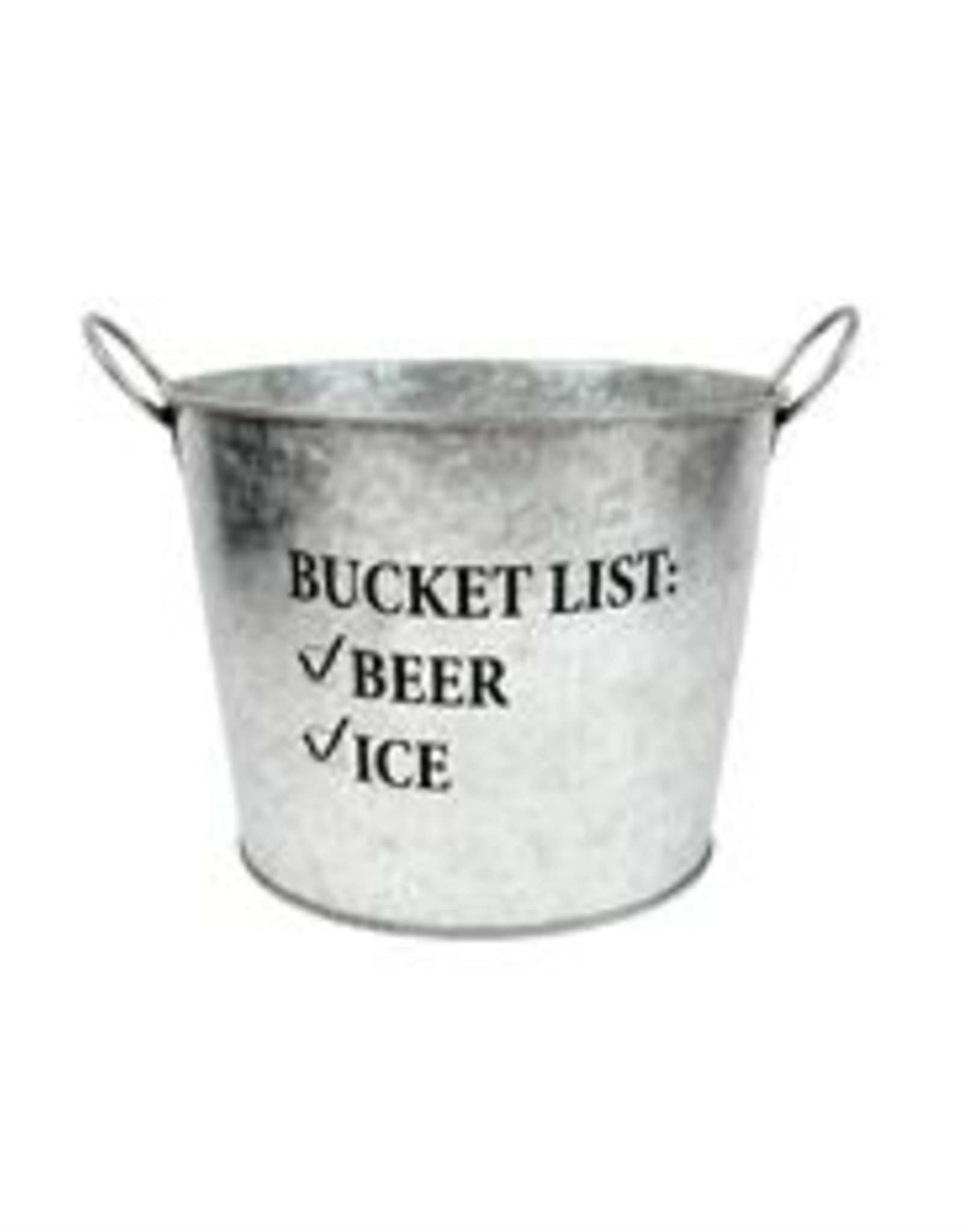 DEI Galvenized Beer Bucket