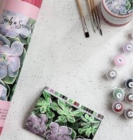 Pink Picasso Paint By Numbers, Such A Succulent