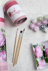 Pink Picasso Paint By Number, Beautiful Blooms