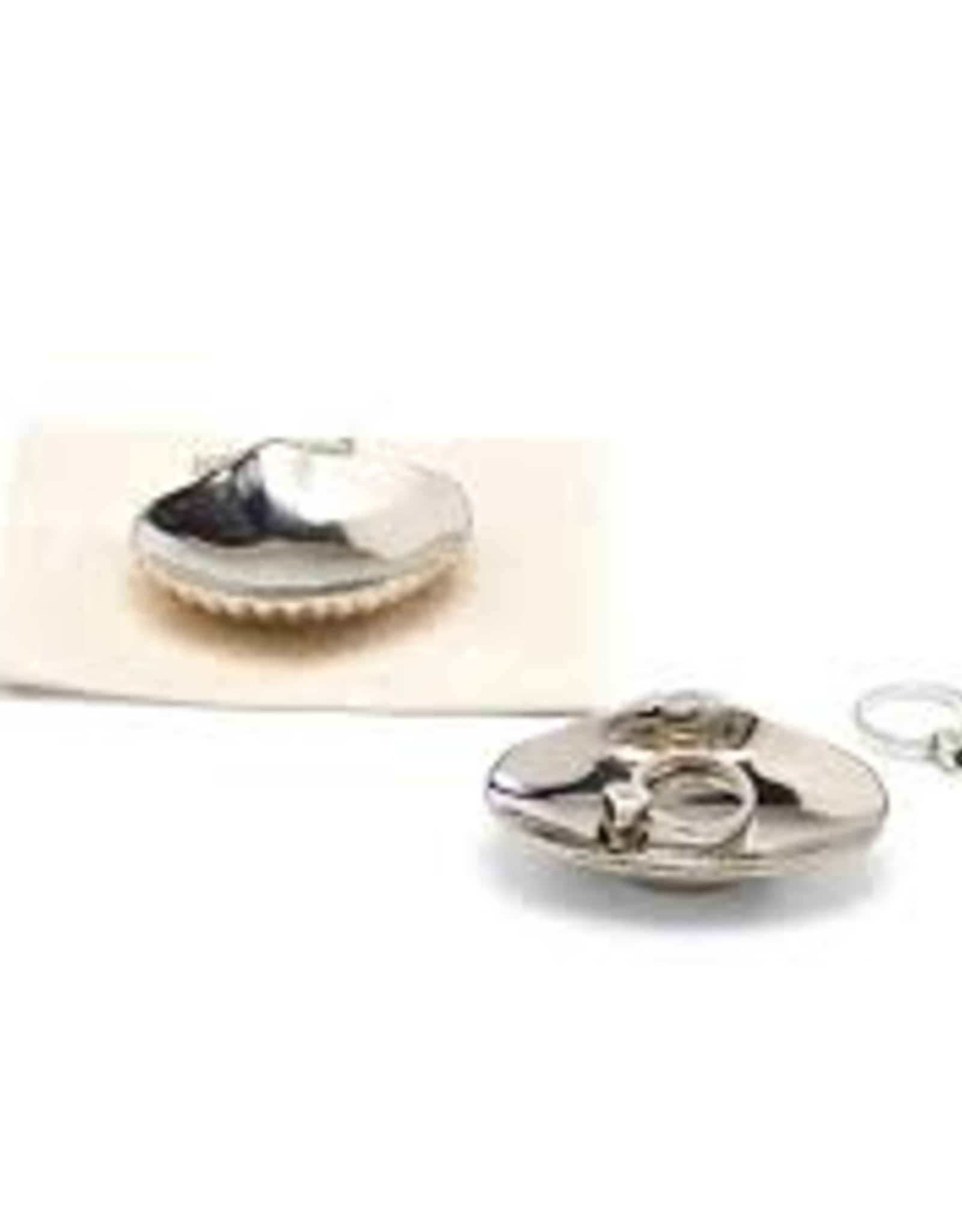 Shell Trinket Tray in Gift Pouch, Shell Yeah
